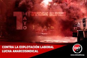 Crónica 1 de mayo, CNT-AIT Madrid